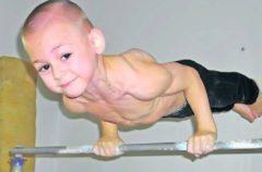 Los Stroe, los niños más fuertes del planeta