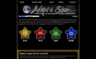 Si quieres, ya puedes adoptar una estrella