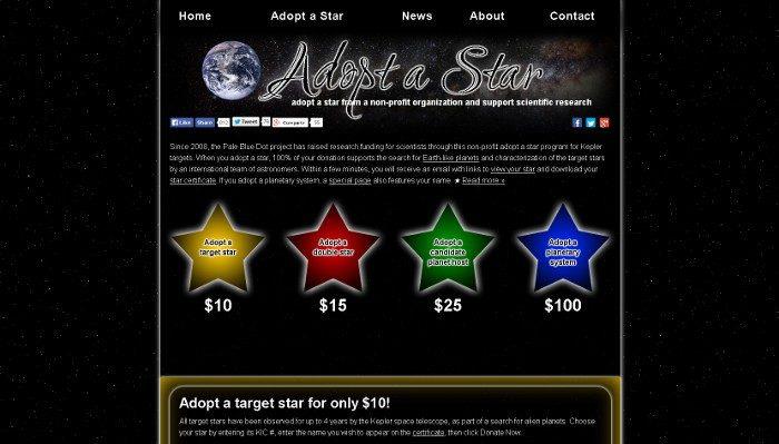Adopta una estrella
