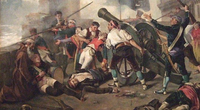 La primera guerra de la historia