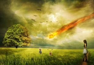 La primera muerte por meteorito