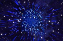 Una estrella que parpadea cada dos minutos