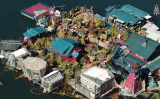 Deciden construir su propia isla… Y este es el resultado