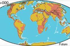 Según esta teoría, el planeta podría volver a tener un único continente