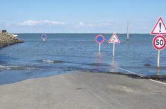 Passage du Gois, una carretera que solo está disponible dos veces al día