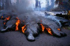 Este es, posiblemente, el chorro de lava más impresionante del mundo