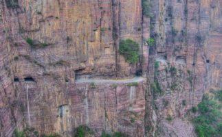 El túnel de Guoliang, un lugar situado dentro de una montaña