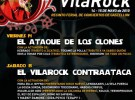 Cartel del festival Vila Rock 2010