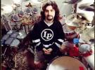 Mike Portnoy (Dream Theater) grabando con Avenged Sevenfold