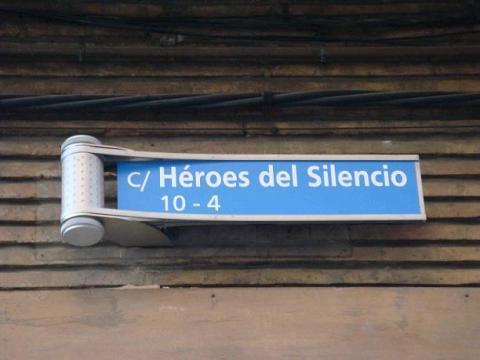 Calle Héroes del Silencio