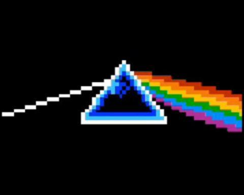 Dark side of the moon en formato 8 bits