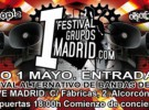 Festival Grupos Madrid, mañana en la capital de España