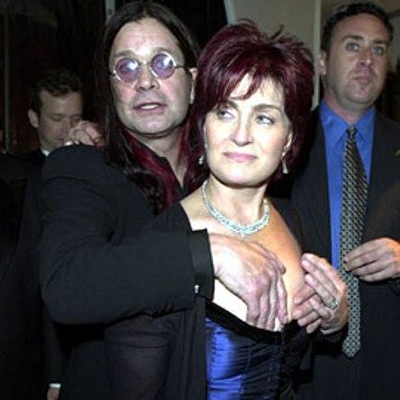 Ozzy Osbourne y sus nuevos pisapapales