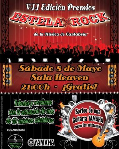 Se entregan los Premios EstelaRock de la música de Cantabria