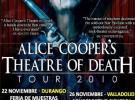 Alice Cooper, nuevo disco y gira por España en noviembre