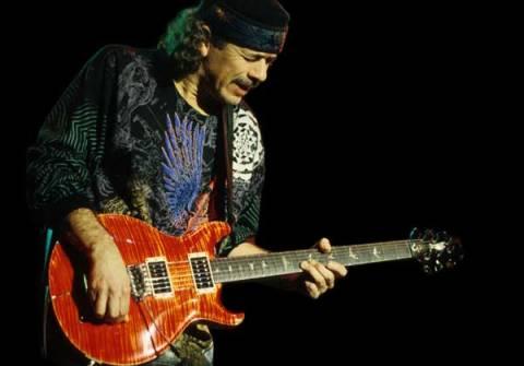 Santana prepara su nuevo disco de versiones