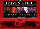 Heaven and Hell, disco y DVD en directo a la venta en noviembre