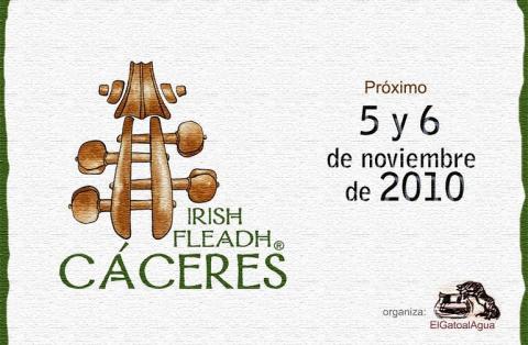 Los sonidos de Irlanda llenarán las plazas cacereñas durante la 7ª edición del Irish Fleadh