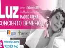 Luz Casal, concierto benéfico el día mundial del cáncer