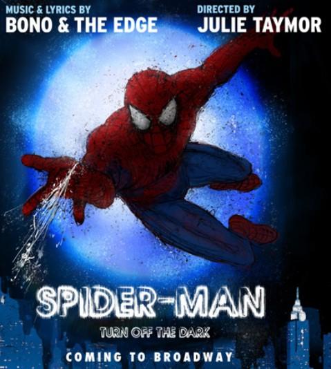 Nuevo retraso para el musical de Spiderman producido por U2