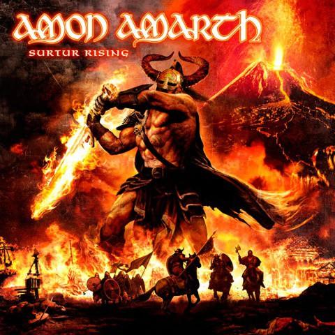 """Amon Amarth publican la portada y el listado de canciones de """"Surtur Rising"""", su próximo disco"""