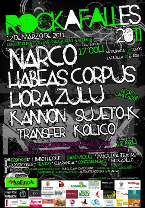 Cerrado el cartel del festival Rockafalles 2011