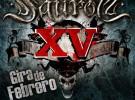 Saurom alarga su concierto XV por toda España en febrero