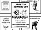 III Swing Festival Madrid 2011, fechas y detalles del festival