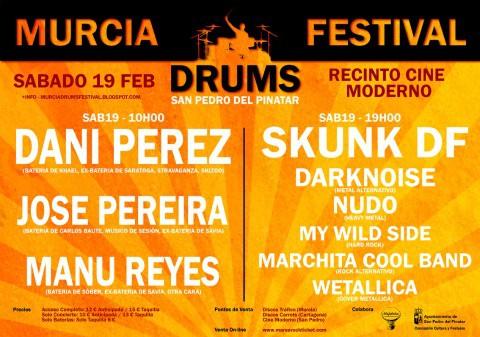 Murcia Drums Festival cartel
