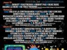 Derrame Rock XVI, cartel definitivo y orden de actuación