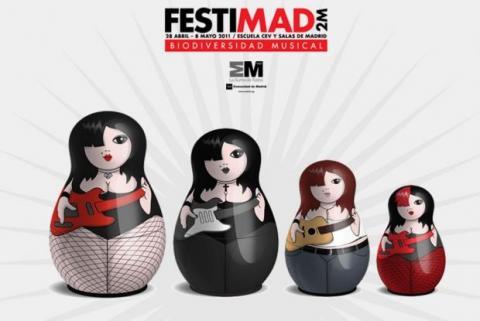El Festimad 2011, a partir del 28 de abril
