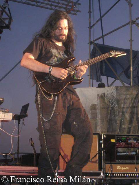 Pablo García WarCry Leyendas del Rock 2010