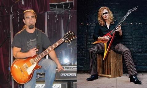 Dave Mustaine, nuevo proyecto con Dan Spitz (ex Anthrax)