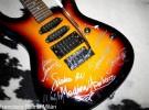 Medina Azahara guitarra firmada