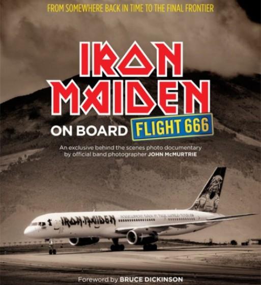 Iron Maiden, libro de fotos en octubre