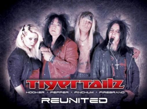 Tigertailz, reunión al completo de su formación original