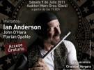Tullianos traen a España a Ian Anderson en julio