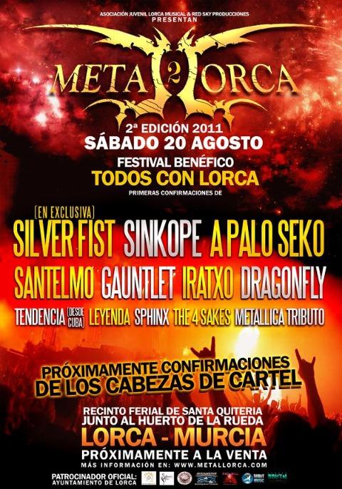 Habrá Metal Lorca 2011 pese a los problemas sufridos en la ciudad