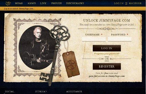 Jimmy Page recibe un premio como reconocimiento a las ventas de su libro