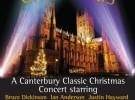 Ian Anderson, Bruce Dickinson y Justin Hayward se unen para un concierto de Navidad