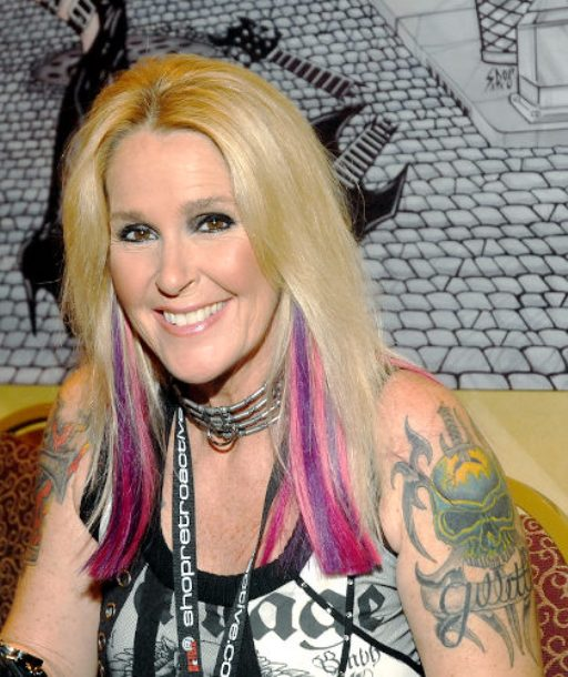 PARSIPPANY, NJ - OCTOBER 24:  Lita Ford attends the Chiller Theatre Expo at the Hilton Parsippany Hotel on October 24, 2008 in Parsippany, New Jersey.  (Photo by Bobby Bank/WireImage)   Original Filename: 83986148.jpg