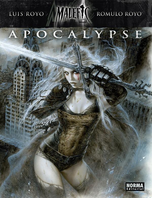 Avalanch Malefic Time Apocalypse portada libro Luis Romulo Royo