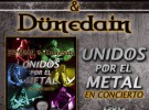 Zenobia y Dünedain lanzan el DVD 'Unidos por el metal' este viernes