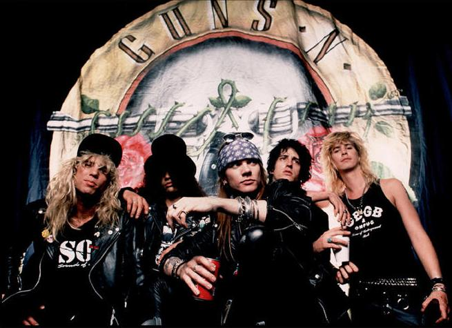 Guns n´Roses, la loca historia tras la grabación de los Use your illusion