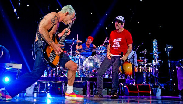 Red Hot Chili Peppers directo Barcelona Alejandro Garcia