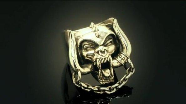 Motörhead, una marca de joyería diseña anillos inspirados en la banda