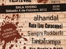 Primer Rockberto Festival el 4 de febrero en Málaga