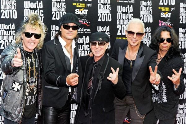 Scorpions estarán de gira hasta 2013