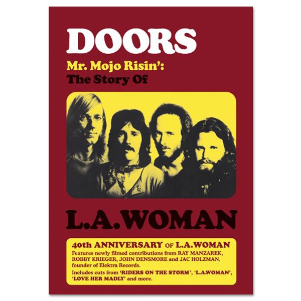 """Mr Mojo Risin: The Story of L.A. Woman"", nuevo DVD de The Doors"