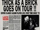 Ian Anderson edita «Thick as a brick 2» el 2 de abril